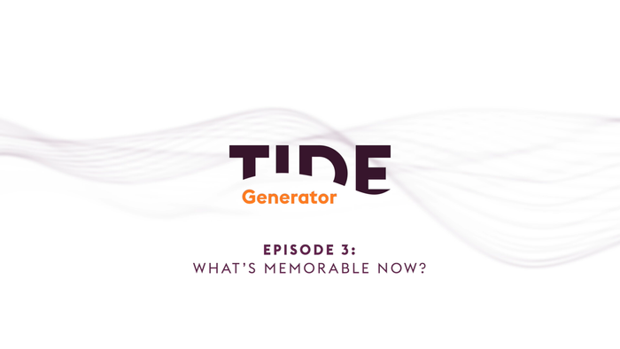 Podcast: What's Memorable Now?
